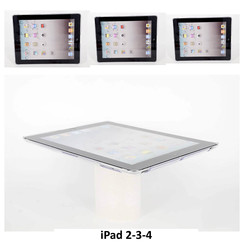 Apple Back Cover Tablet Clear pour iPad 2-3-4