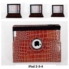 Apple Bruin Book Case Tablet voor iPad 2-3-4