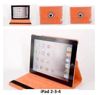 Apple Oranje Book Case Tablet voor iPad 2-3-4