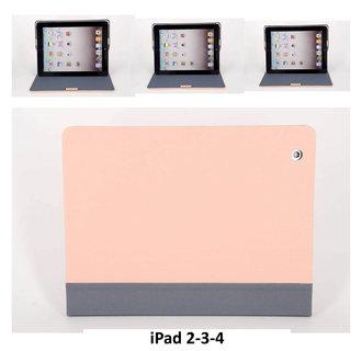 Apple L Roze Book Case Tablet voor iPad 2-3-4