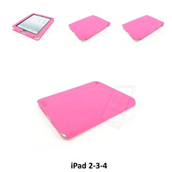 Apple Pink Book Case Tablet for iPad 2-3-4
