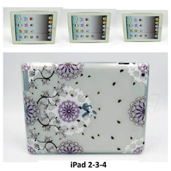 Apple Print Back Cover Tablet voor iPad 2-3-4
