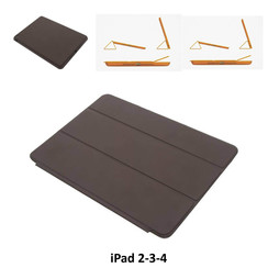 Apple D Brown Book Case Tablet for iPad 2-3-4