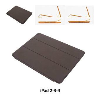 Apple D Bruin Book Case Tablet voor iPad 2-3-4