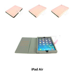 Apple L Pink Book Case Tablet for iPad Air