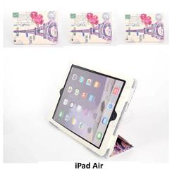 Apple Print Book Case Tablet voor iPad Air