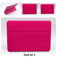 Apple Hot Pink Book Case Tablet for iPad Air 2