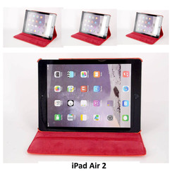 Apple Rood Book Case Tablet voor iPad Air 2