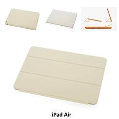 Apple Beige Book Case Tablet voor iPad Air