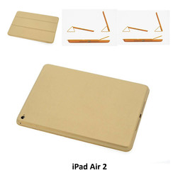 Apple Goud Book Case Tablet voor iPad Air 2