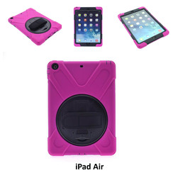 Apple Hot Pink Back Cover Tablet for iPad Air