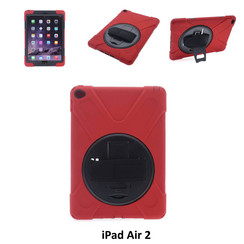 Apple Rood Back Cover Tablet voor iPad Air 2
