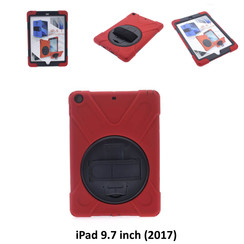Apple Back Cover Tablet Rouge pour iPad 9.7 inch (2017)