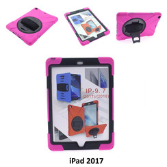 Apple Hot Pink Back Cover Tablet for iPad 2017
