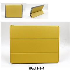 Apple Goud Book Case Tablet voor iPad 2-3-4