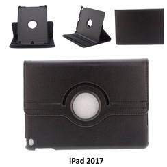 Apple Zwart Book Case Tablet voor iPad 2017