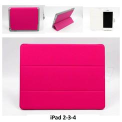 Apple Tablet Housse Hot Rose pour iPad 2-3-4
