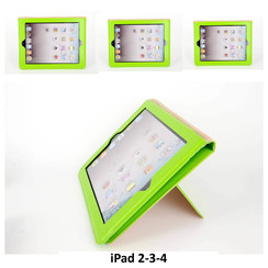 Apple Green Book Case Tablet for iPad 2-3-4