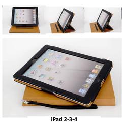 Apple Tablet Housse Noir pour iPad 2-3-4