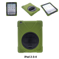 Apple D Green Back Cover Tablet for iPad 2-3-4