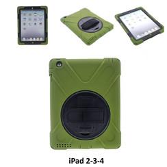 Apple D Groen Back Cover Tablet voor iPad 2-3-4