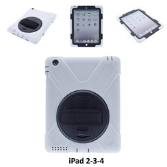 Apple Wit Back Cover Tablet voor iPad 2-3-4