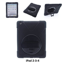 Apple Black Back Cover Tablet for iPad 2-3-4