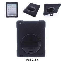 Apple Zwart Back Cover Tablet voor iPad 2-3-4