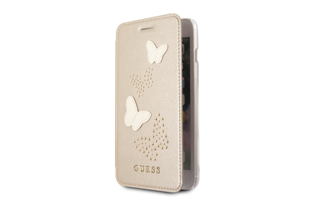 Guess Guess Book case voor Apple iPhone 7-8 Plus - Beige