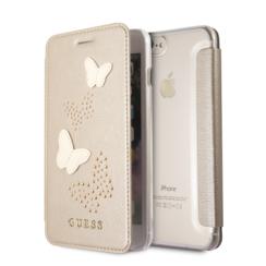 Guess Book case voor Apple iPhone 7-8 Plus - Beige