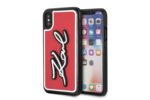 Karl Lagerfeld Karl Lagerfeld backcover voor Apple iPhone X-Xs - Red