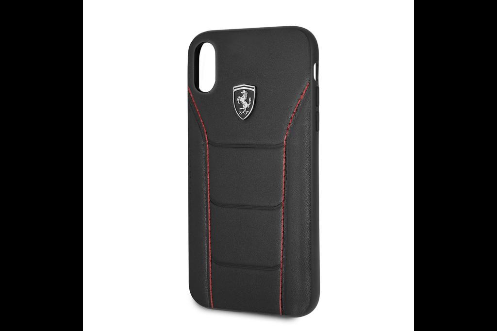 Ferrari Ferrari silicone backcover voor Apple iPhone XR - Black