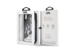 Karl Lagerfeld Karl Lagerfeld backcover voor Apple iPhone Xs Max- Zwart