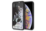 Karl Lagerfeld Karl Lagerfeld backcover voor Apple iPhone X-Xs - Transparent