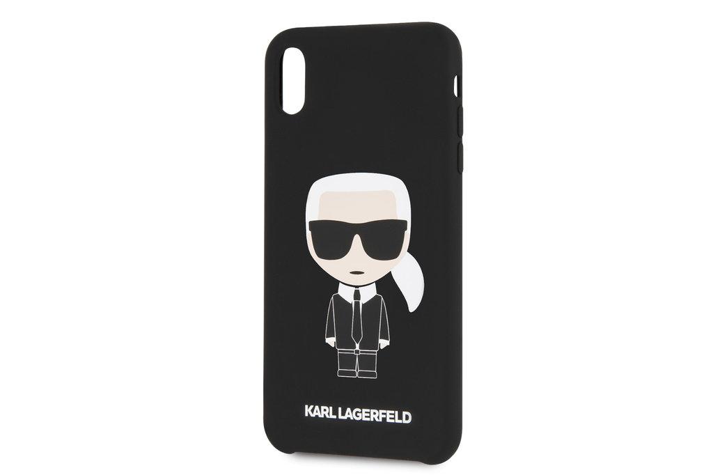 Karl Lagerfeld Karl Lagerfeld backcover voor Apple iPhone Xs Max - Black