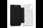 Karl Lagerfeld Karl Lagerfeld Book case voor Apple iPhone X-Xs - Black