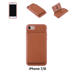 Back Cover for iPhone 7/8 - Brown