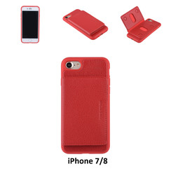 Coque pour iPhone 7/8 - Rouge