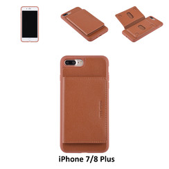 Back Cover for iPhone 7/8 Plus - Brown