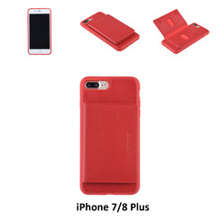 Back Cover for iPhone 7/8 Plus - Red