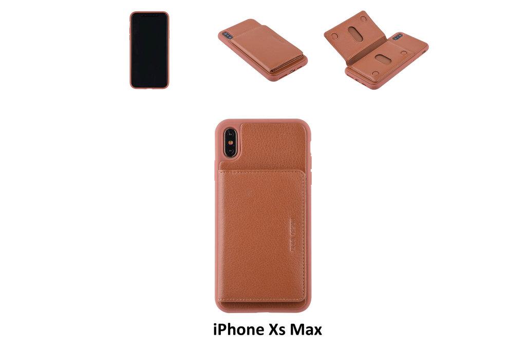 UNIQ Accessory Back Cover for iPhone Xs Max - Brown