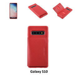 Back Cover for Galaxy S10 - Red