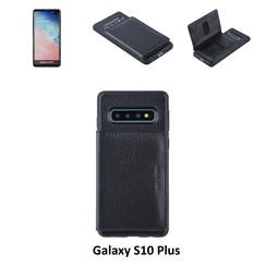 Backcover voor Samsung Galaxy S10 Plus - Zwart