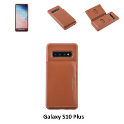 Back Cover for Galaxy S10 Plus - Brown