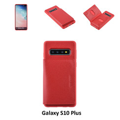 Backcover voor Samsung Galaxy S10 Plus - Rood
