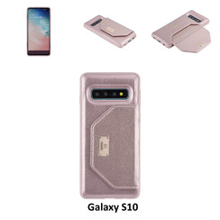 Coque pour Galaxy S10 - Rose Or