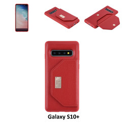 Back Cover for Galaxy S10+ - Red