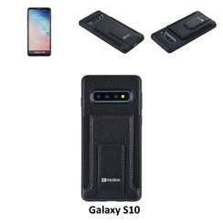 Back Cover voor Samsung Galaxy S10 - Zwart