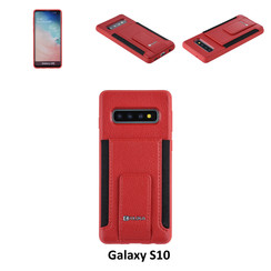 Coque pour Galaxy S10 - Rouge