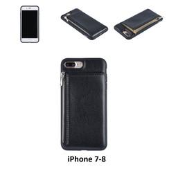 Back Cover voor Apple iPhone 7-8 Plus - Zwart